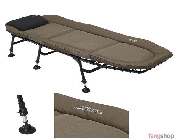 Prologic Commander Classic Bedchair 6 Legs 200x70cm Karpfenliege Angelbett