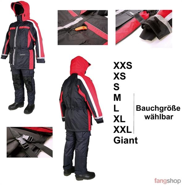 Sundridge Schwimmanzug SAS Mk7 2-tlg Floating Suit Angelanzug