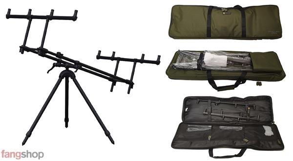 Prologic Tri-Lux Rod Pod für 3 Karpfenruten Rutenständer für Angelruten