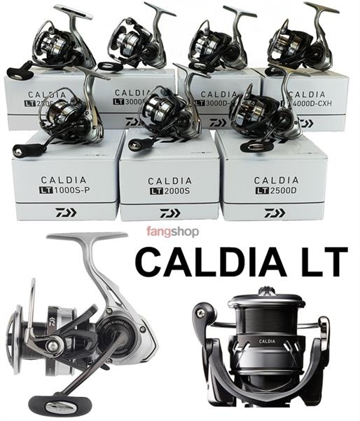 Daiwa CALDIA LT extrem leichte Angelrolle 1000 2000 2500 3000 4000 5000 6000