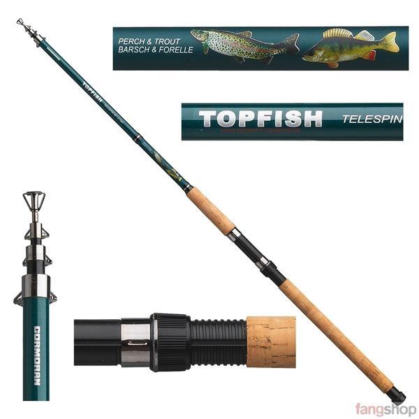 Cormoran Topfish Tele 30 Barsch & Forelle 2,10m 2,40m 10-30g Barschrute Forellenrute Spinnrute