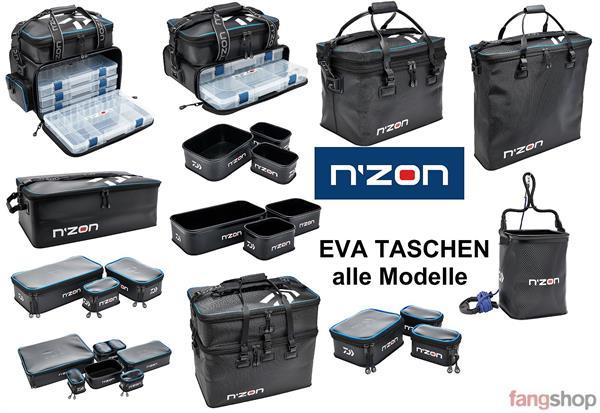 Daiwa NZON Feeder Angeln EVA Zubehörboxen Set 19x15x8cm