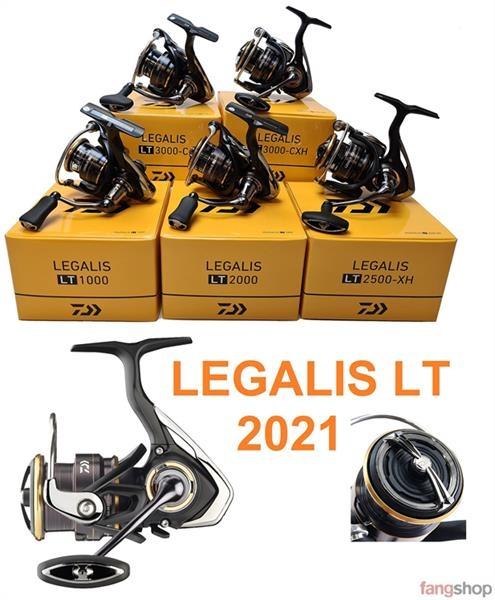 Daiwa LEGALIS LT Angelrolle NEU2021 1000 2000 2500 3000 4000 5000 6000 Spin