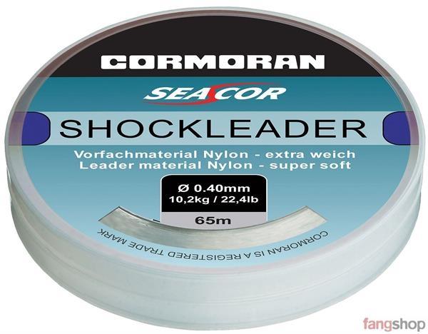 Cormoran SEACOR Shockleader gut knotbare Vorfach Schnur Norwegen 0,40 bis 1,00mm