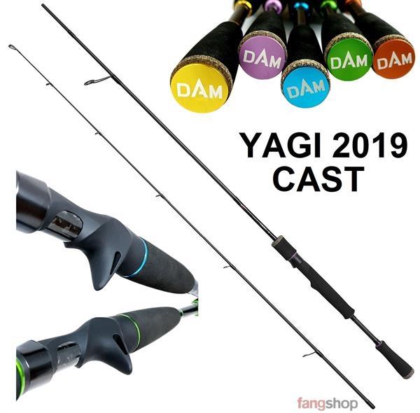 DAM Effzett YAGI CAST Baitcastrute 1,90m 2,10m 2,20m Hecht Zander Barsch