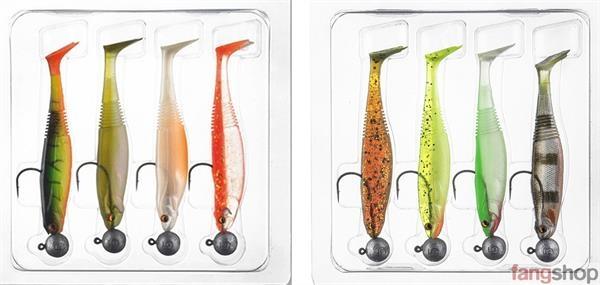 Daiwa Prorex Ready To Fish Zander-Set 2 Gummifische 10cm 7,5g fertig montiert