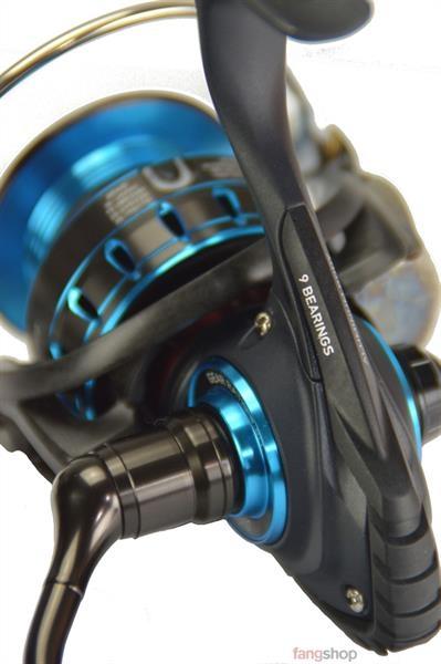 Multirolle mit Schnurzähler Linksshand inkl Schnur 330m 0,30mm Rolle mit Schnur