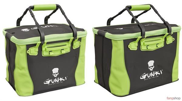 Gunki SAFE BAG EDGE wasserdichte flexible Faltbehälter 23,4l 29,1l Angeltasche