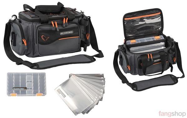 Savage Gear Soft Lure Specialist Bag S 21x38x22cm Angeltasche Ködertasche