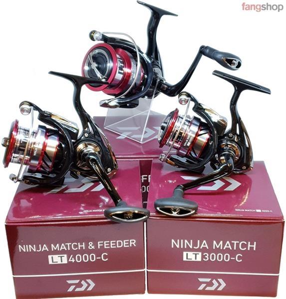 Daiwa NINJA MATCH LT superleichte Match Feeder Angelrolle 3000-C 4000-C 6000SS