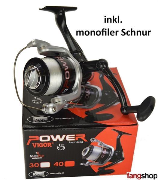 Lineaeffe Vigor Power FD 30 40 Angelrolle Spinnangeln NEU