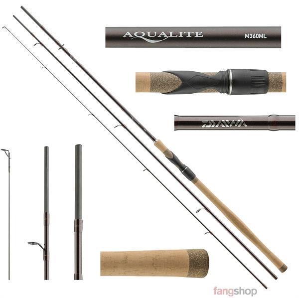 Daiwa Aqualite Sensor Float Friedfischrute Posenrute Barsch Schleie Angelrute 1A
