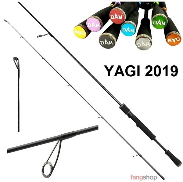 Dam EFFZETT YAGI Spinnrute NEU 2019 Light Jig Ultra Light Hecht Barsch Zander